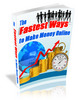 Fastest way to make money online plr