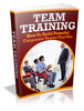 Team Training plr