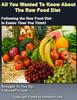 Thumbnail Raw food quide