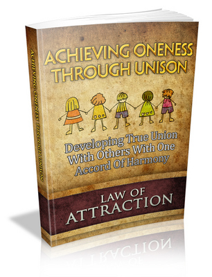 Product picture Achieving unison law of attraction plr