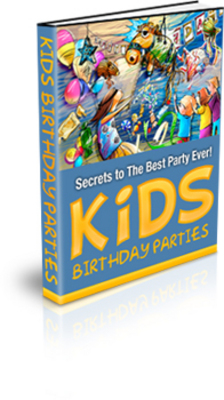 Product picture kids birthday parties plr