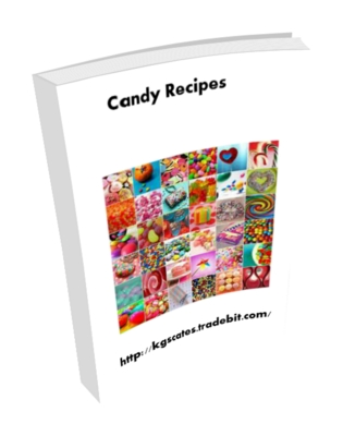Product picture Candy recipes plr
