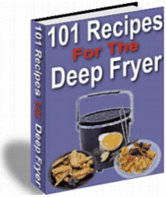 Product picture  101 deep fry recipes plr
