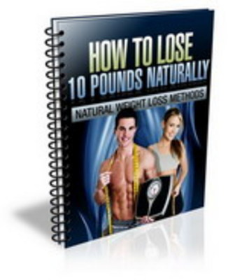 Product picture Lose 10 pounds naturally