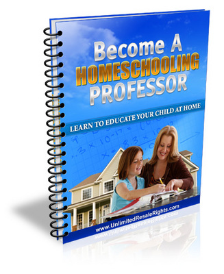 Product picture Become a homeschool parent, how to homeschool